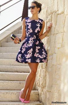 Лето продолжается в платьях