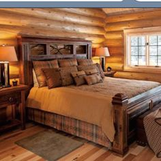 Barn wood bed frame