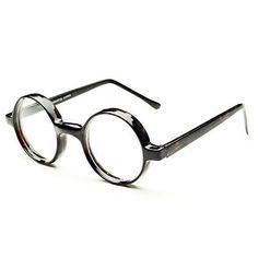 Retro Vintage Nerd Clear Lens Round Eyeglasses Glasses Frames Tortoise R422   Clothing, Shoes & Accessories, Unisex Clothing, Shoes & Accs, Unisex Accessories   eBay!