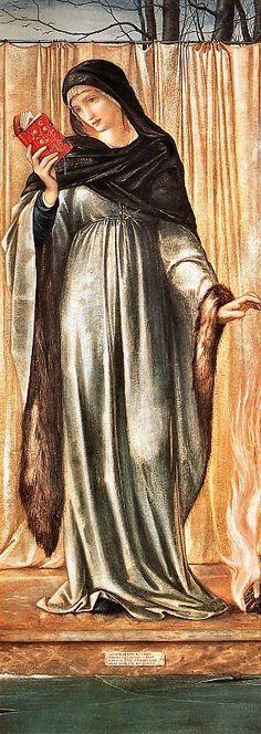 Edward-Burne Jones The Seasons, Winter