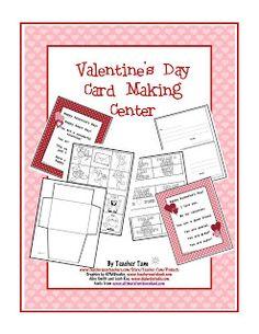 Valentine's Day Card Making Center