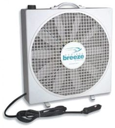 Endless Breeze camper fan by Fan-Tastic is a mult-purpose, lightweight, portable, RV fan. Plug in Endless Breeze and the large volume of air movement will surprise and delight you! Ideal for blowing away bugs on hot muggy nights Bucket Air Conditioner, Portable Dog Kennels, Portable Fan, Rv Parts, Camper Parts, Pet Cage, Camping World, Family Camping, Survival Skills