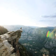 @andymcnasty conquering that Yosemite life. #LensDistortions