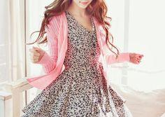 So pretty! I love the cardigan! <3