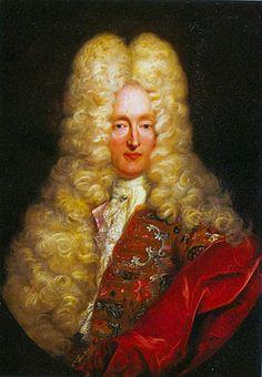Portrait of Anton III.,Count of  Montfort  by Frans van Stampart,1705