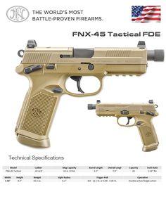 FN America - FNX-45 Tactical FDE