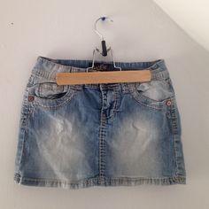 Jean Skirt Cute blue jean skirt Angels  Skirts