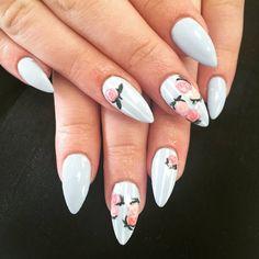 + 53 Acrylic Nail Art Design Ideas 2018