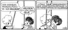 Susanita y su feminismo agresivo xD Mafalda Quotes, H Comic, Satire, Growing Up, Comedy, Humor, Funny, Snoopy, College Tips