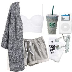 """Bored time."" by fuckedchanel on Polyvore"
