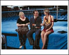 BIONIC WOMAN 8X10 Photo 202-01 LINDSAY WAGNER / RICHARD ANDERSON / MARCIA LEWIS