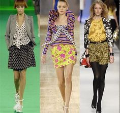 mixing patterns is not just for the runway