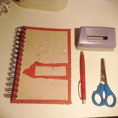 Skinna blanc ecofriendly notebook.