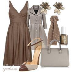 Little Brown Dress
