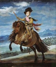 Art Print: Princes Art Print by Diego Velázquez by Diego Velazquez : Spanish Painters, Spanish Artists, Caravaggio, Rembrandt, Diego Velazquez, Kunsthistorisches Museum, L'art Du Portrait, Baroque Art, Baroque Painting