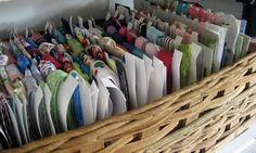 Ribbon Storage + Lots of Craft Storage ideas