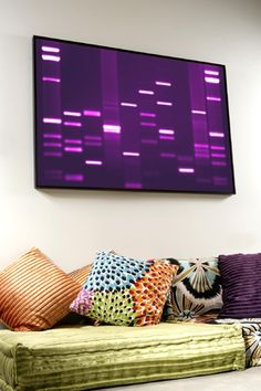 How cool is this?! Personal DNA portraits, pictures, prints and paintings as art @ DNA11