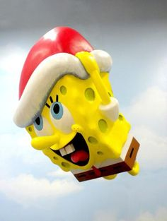 SpongeBob Balloon Gets Holiday Makeover for Annual Macy's Thanksgiving Parade