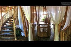 Divine Bamboo House in Bali in Abiansemal