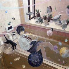 Yukihiro Nakamura Web Photo Illustration, Hobbit, Anime Art, Painting, Paintings, Draw, Drawings, The Hobbit
