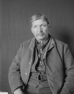 Jo-Hiogwe (aka It Has Taken The Sky Out Of The Water, aka David Warrior) - Iroquois(Cayuga/Seneca) – 1908