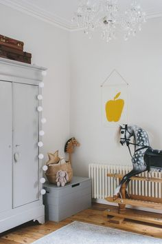 Decluttering children's spaces