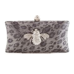 #NuWang, Love this.Buzzing with style, this dazzling clutch turns any outing into a special occasion. Designed in a metallic leopard print with crystals sparkling into a bee-shaped brooch on the front.$200! Found it on Xiao Qian  #XiaoQianXiaoQian Happy New Year! #購物 #ShopSmart #バラエティー #ShopOnline #フォローありがとう at #XiaoQian #Fashion #Shopping #Gyaru #NuwangXiaoQian #MaXiaoQian #QueenOfFashion #Divas #Accessories #プレゼントをあげよう $50 #purchase #精美禮品