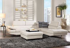 Shop for a Calverton Park Oyster 3 Pc Sectional Living Room at Rooms To Go. Find Living Room Sets that will look great in your home and complement the rest of your furniture. #iSofa #roomstogo