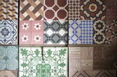 mosaico hidráulico = Lúcio Zagalo by Rosa Pomar, via Flickr