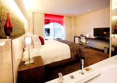 African Pride 15 on Orange by Marriott Hotel Guest Room by Source Interior Brand Architecture