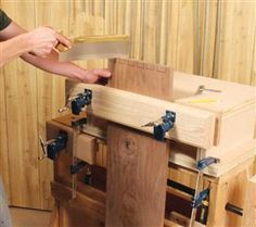 3 Classic Vises made with Pipe Clamps - Popular Woodworking Magazine