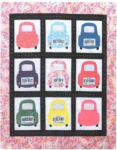License To Shop Quilt Pattern by Paula Perry for Sew What Quilt Shop at Creative Quilt Kits