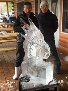 Ice Carving Boot Camp Special Forces 2015 Junichi Nakamura & Shintaro Okamoto