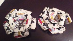 Playing Card Flower hair clip and by PagansParadise on Etsy, $12.00