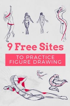 Pose Reference | Tools For Artists | Practice Figure Drawing Online | Gesture Drawing | How To Draw A Human