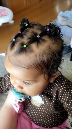 Hairstyles You are in the right place about baby girl hairstyles black Here we offer you the most be Mixed Baby Hairstyles, Cute Toddler Hairstyles, Cute Little Girl Hairstyles, Girls Natural Hairstyles, Kids Braided Hairstyles, Girl Hair Dos, Baby Hair Dos, Toddler Hair Dos, Leave In