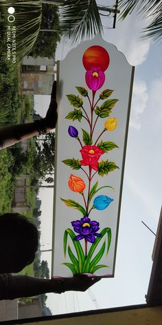 Glass Etching Designs, Glass Painting Designs, Paint Designs, Stained Glass Paint, Stained Glass Windows, Window Glass Design, Wooden Cornice, Front Gate Design, Pooja Room Door Design