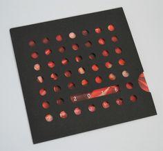 """Lot de 5 CARTES DE VOEUX 2016 originale avec son enveloppe """"graphik collection"""" : Cartes par designbyflohan"""