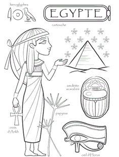 Egypt paper doll to color Egypt Tattoo Design, Egypt Design, Colouring Pages, Coloring Books, Egypt Makeup, Egypt Wallpaper, Egypt Concept Art, Ancient Egypt For Kids, Egypt Cat