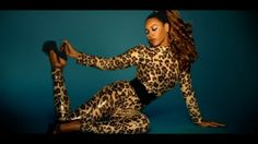 "Beyonce in her appropriately titled ""Kitty Kat"" music video"