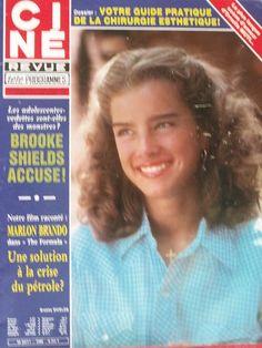 Brooke Shields covers Ciné Revue #46, 1980.