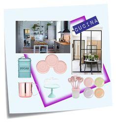 """""""Senza titolo #9"""" by donatella-lo-presti on Polyvore featuring interior, interiors, interior design, Casa, home decor, interior decorating, Post-It, iittala e Royal Doulton"""