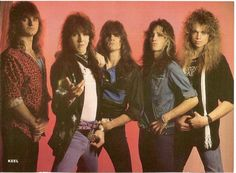 """Keel - I have no idea about these guys.  Saw a couple of videos back in the day on the Headbanger's Ball, and was like, """"Uhhh, okay.""""  Seemed like a """"me too"""" kind of band.  I heard a few years back that the lead singer, Ron Keel, was in a cowboy hat and boots, singing country.  Oh, man..."""