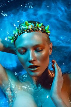 sultry water by Marina LooK, via Behance