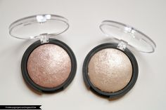 #83704 Moonlight Pearls & #83706 Blush Gems http://www.eyeslipsface.nl/product-beauty/baked-highlighter