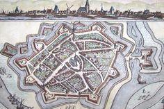 Nederlandse Stad Doesburg rond 1654 - geelkercken.jpg (525×350)