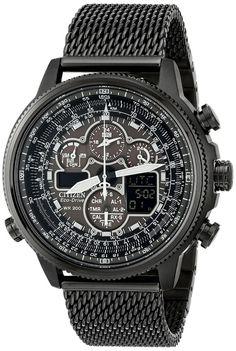Men watches Citizen Men's JY8037-50E Analog-Digital Display Japanese Quartz Grey Watch Top men watches
