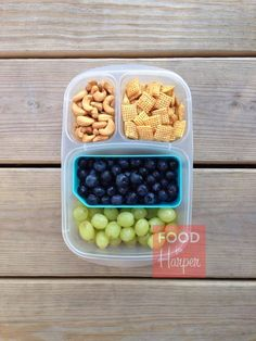 Playground Snacks packed in @EasyLunchboxes