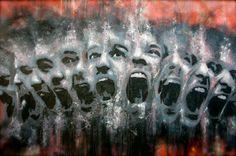 Artist Antoine Stevens Distortion Photography, Play It Again Sam, Brest, A Level Art, Collage, Street Art Graffiti, People Art, Postmodernism, Banksy