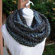 Extra Large INFINITY SCARF Oversized Loop Cowl by MicheleMade